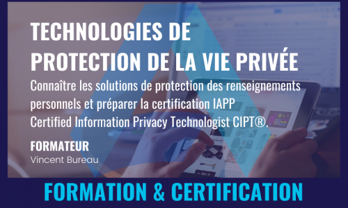 TECHNOLOGIES DE PROTECTION DE LA VIE PRIVÉE