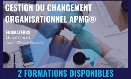 GESTION DU CHANGEMENT ORGANISATIONNEL APMG®